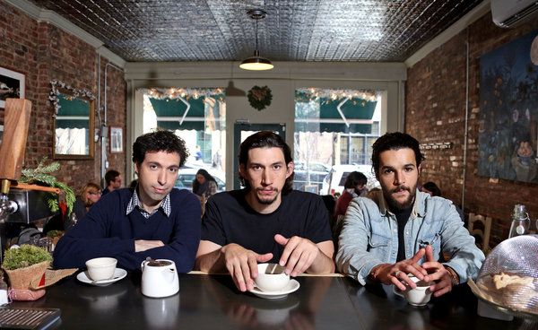 Adam Driver, Christopher Abbott, Alex Karpovsky of 'Girls'