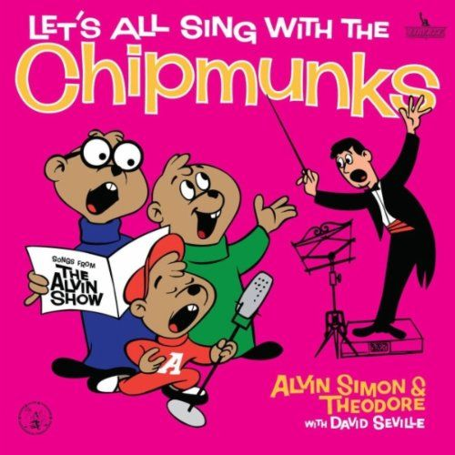 Let's All Sing With The Chipmunks, 1960 Grammy Awards Childrens - Best Musical Album For Children winner, Ross Bagdasarian Sr., artist. #GrammyAwards #GoodMusic #Music