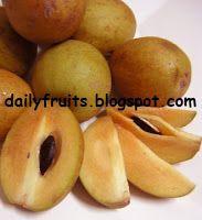Sawo Fruit Benefits