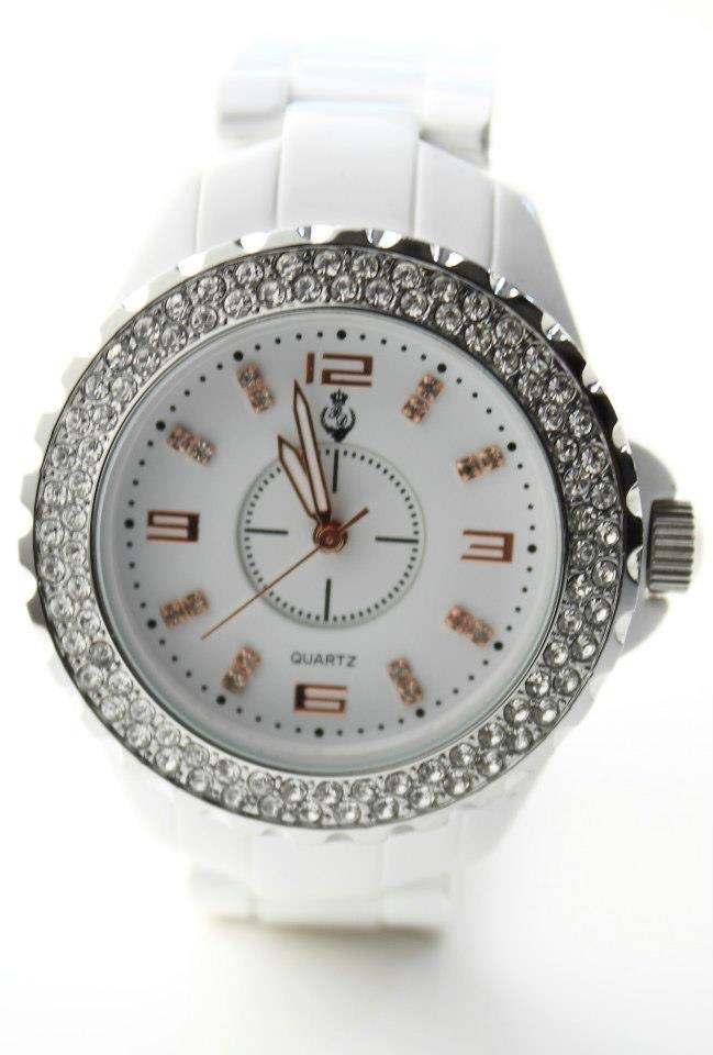 white hot watch by premier designs love this watch looks