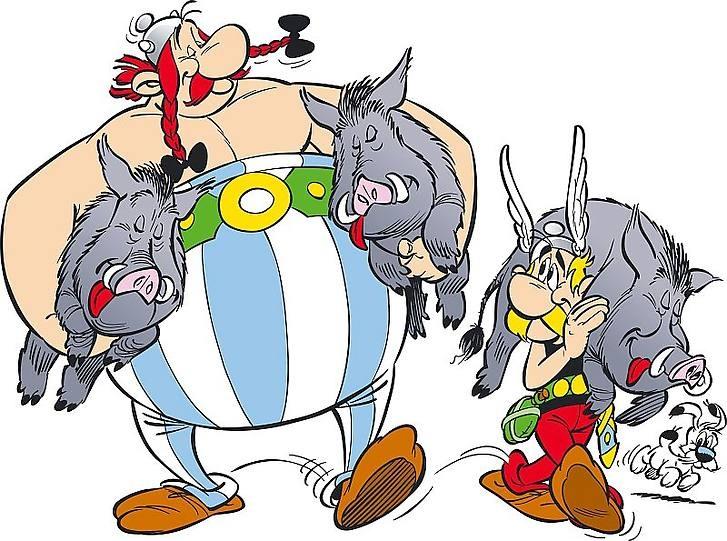 Asterix en Obelix