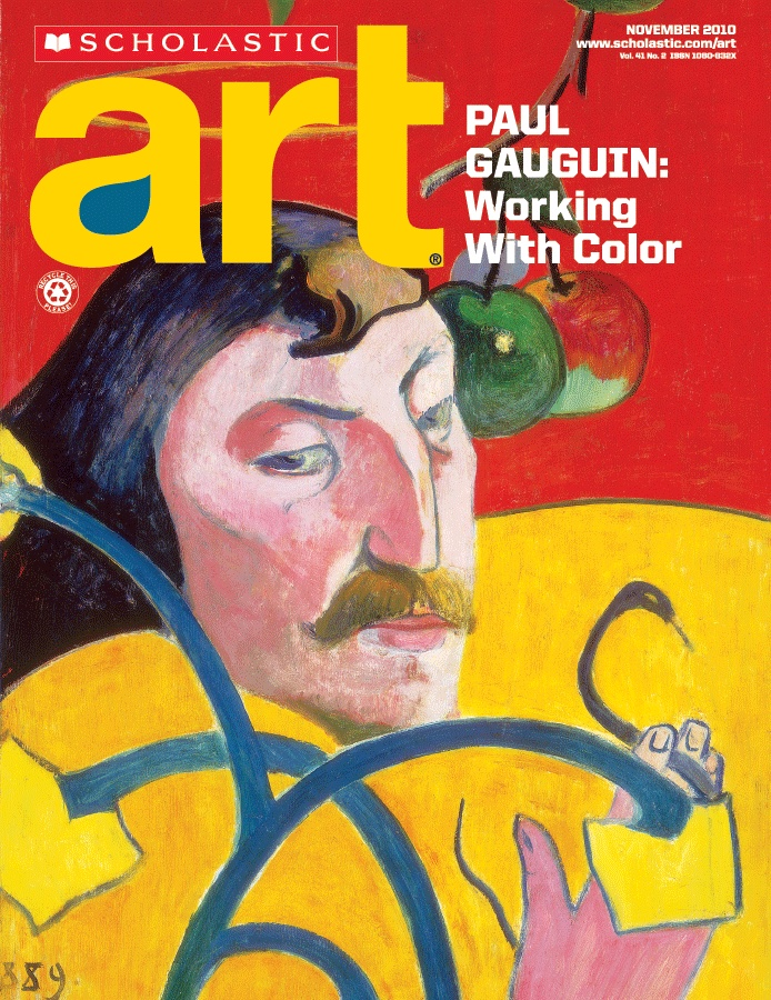 Scholastic Art. Paul Gauguin: Working with Color