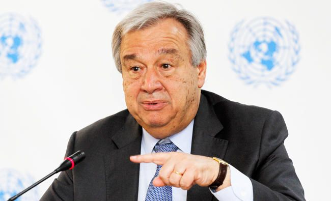NEW YORK: UN Secretary-General Antonio Guterres is disappointed and alarmed by Israel's decision to build a new settlement on land the Palestinians seek for a state, his spokesman said on Friday. Israel's security Cabinet on Thursday approved the building of the first new settlement in the occupied West Bank in two decades, even as Prime Minister Benjamin Netanyahu negotiates with Washington on a possible curb of settlement activity.