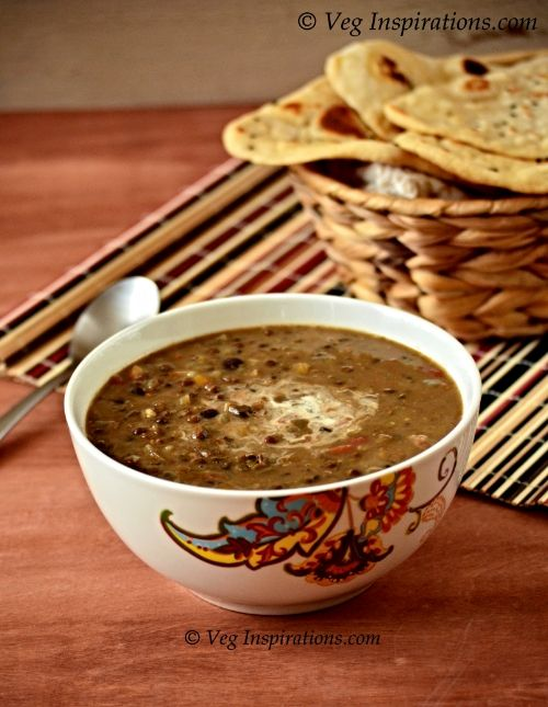 Dhal Makhani ~ Slow cooker and Stove top method | Veg Inspirations