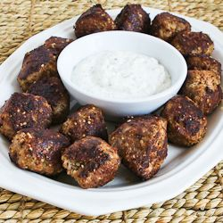 Turkey Meatballs with Romano Cheese and Herbs (Phase One, Low-Carb, Gluten-Free, these are great to have in the freezer.)
