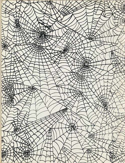 These is the web I would print on red cardstock and tape tot he silly string cans. 'spiderman'