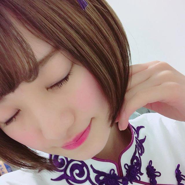 中田花奈のアップ画像