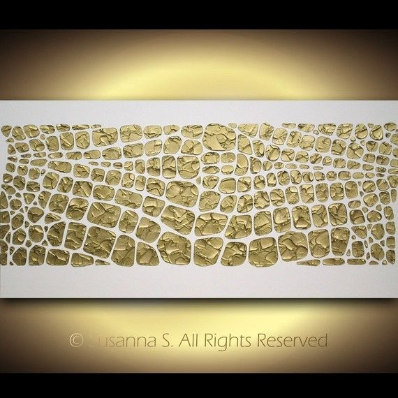 Original Large Abstract Contemporary Art on by ModernHouseArt, $375.00