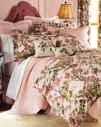 """Annie Selke for Pine Cone Hill """"Formosa"""" Bed Linens - Neiman Marcus"""