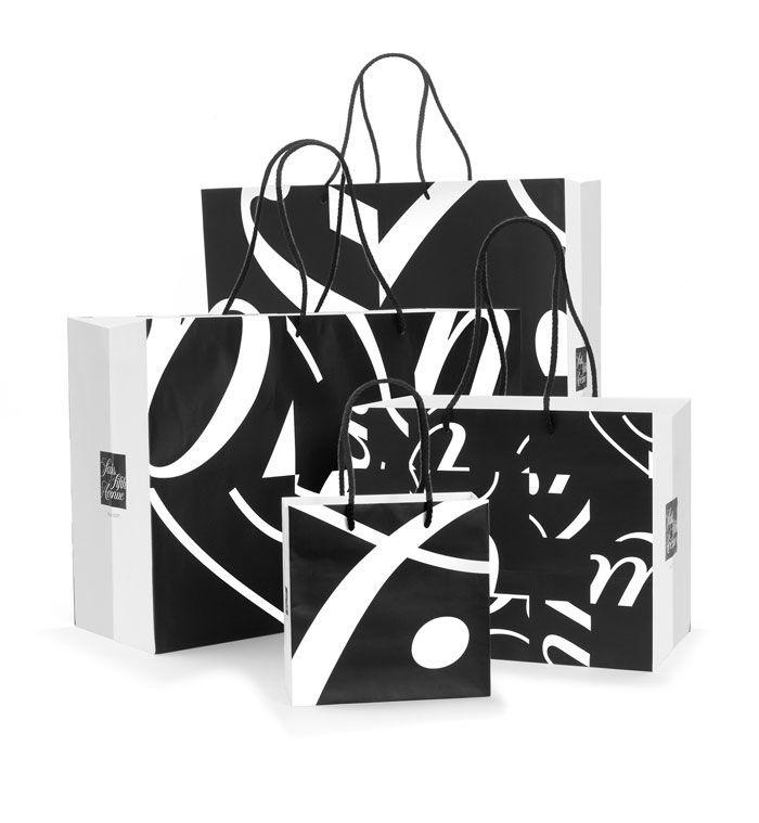 Saks 5th Ave's LOOK Campaign by Pentagram