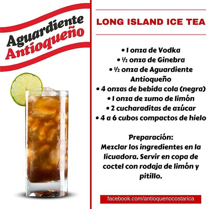 ¡Aguardiente Antioqueño combina con todo! #Aguardiente #Antioqueño #Coctel #Cocktail #LongIslandTea