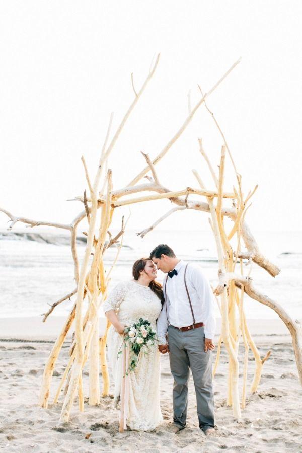 small beach wedding ceremony ideas%0A Intimate   Romantic Nicaraguan Beach Wedding