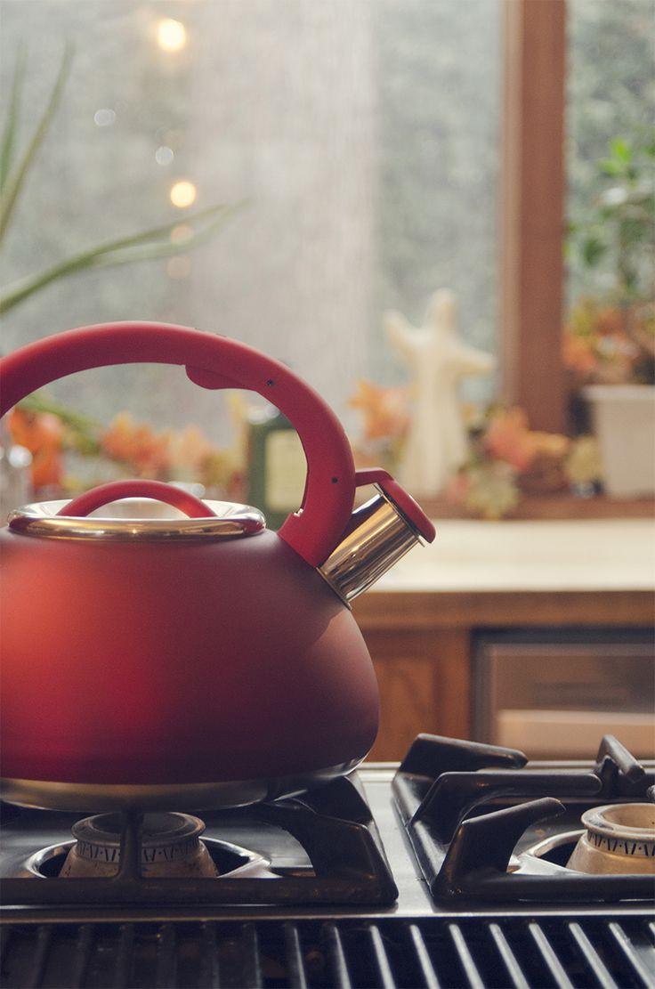 Primula Stainless Steel Avalon Whistling Tea Kettle