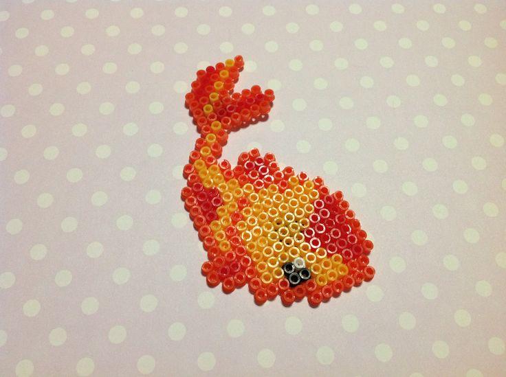 1000 images about strijkkralen on pinterest perler bead for Koi fish beads