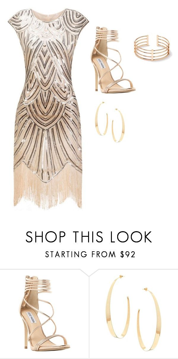 """""""outfit elegante"""" by luzpineda on Polyvore featuring Steve Madden y Lana"""