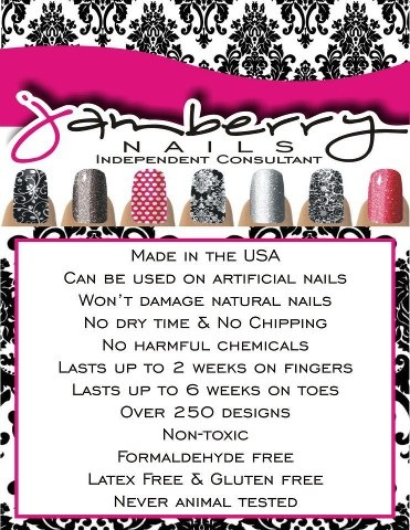 Jamberry Nails are AWESOME! Visit my site to see your options! http://paigehackney.jamberrynails.net/