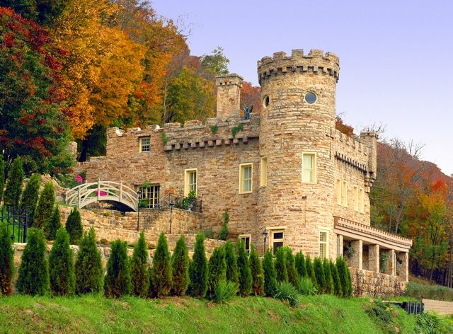 Berkeley Castle,  Berkeley Springs, West Virginia, is a  castle-like house  built for Col. Samuel Taylor Suit of Washington, D.C. as a personal retreat near the spa town, beginning in 1885. It was not complete by the time of his death in 1888 & was finished in the early 1890s for his widow, Rosa Pelham Suit, whom Suit had first met at Berkeley Springs. The design is attributed to Washington architect Alfred B. Mullett, who is alleged to have drawn a rough sketch of the plan on a tablecloth