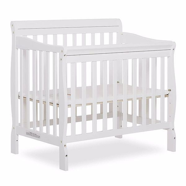 Best Cribs For Small Spaces Best Mini Cribs 2019 Baby Cribs For Twins Small Spaces In 2020 Cribs For Small Spaces Cribs Mini Crib