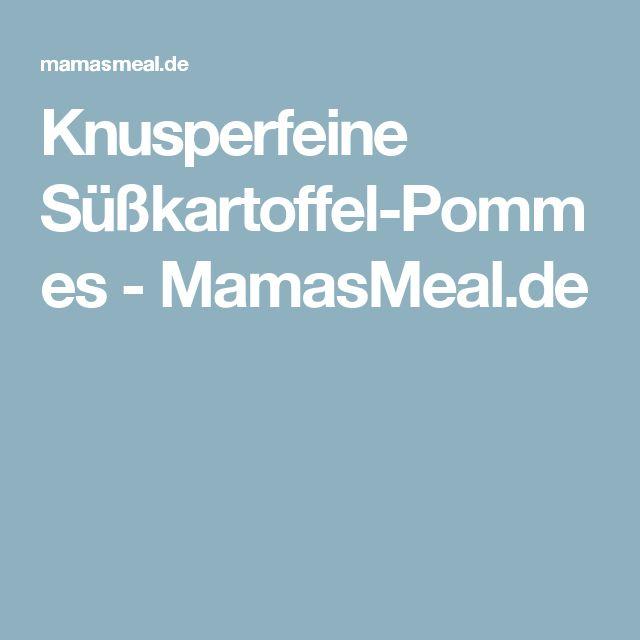 Knusperfeine Süßkartoffel-Pommes - MamasMeal.de