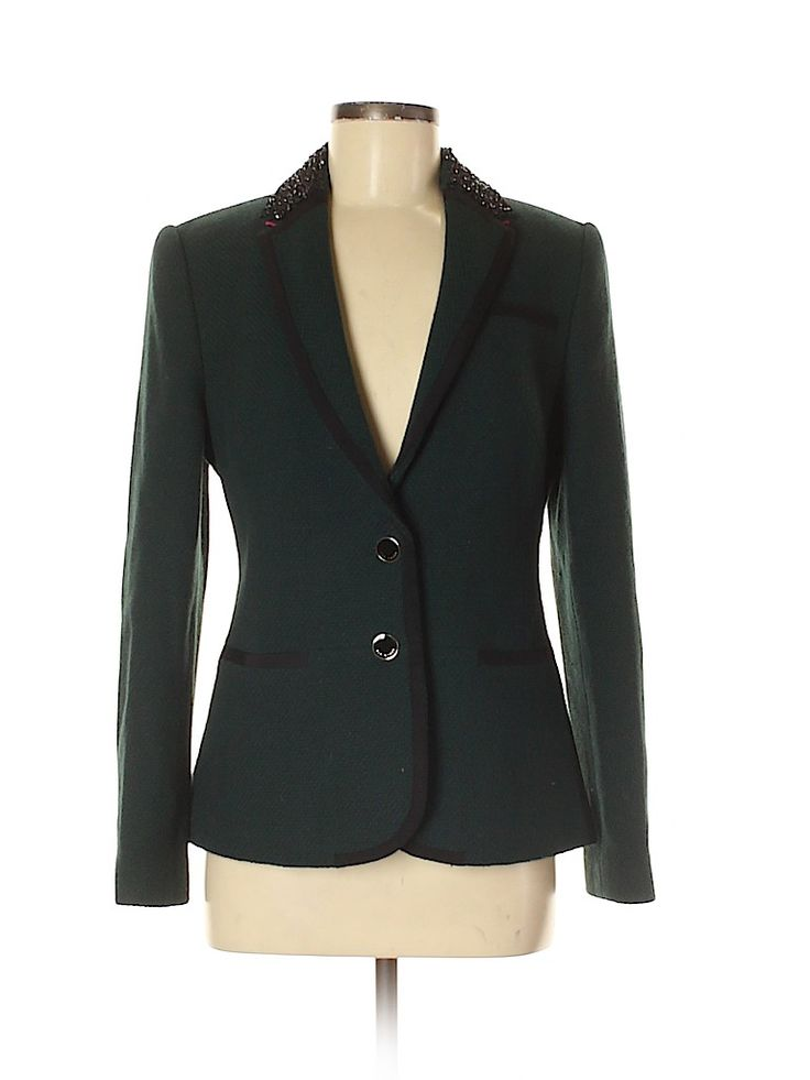 Wool Blazer Clothes Second Hand Clothes Blazer