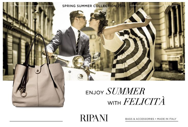 Spring Summer Collection 2015 - model FELICITÀ #feedyourstyle #shopping #bag #fashionstyle