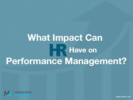 What Impact Can HR Have on Performance Management? Last month, Deloitte used the Harvard Business Review as their platform to unveil the company's new system for performance management. Although cascading objectives, 360-degree feedback reviews and numerical rating systems are all common components of performance management systems, Deloitte has made the decision to do away with them. The company has decided to put just four questions in the place of all those other components.