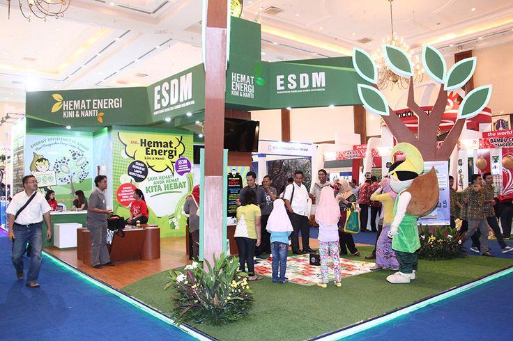 Pameran Climate Change 2015 - Kementerian ESDM - Desain & Produksi Booth Stand Pameran   mandiricitra.comDesain & Produksi Booth Stand Pameran   mandiricitra.com