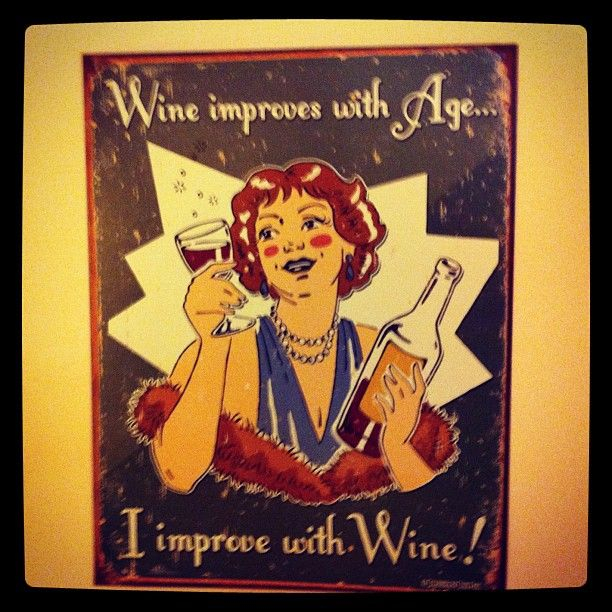 """Lithography & wine: """"Wine improves with age... I improve with Wine. """""""