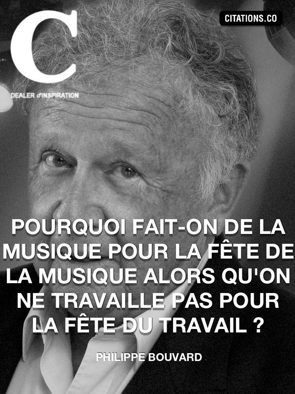 Citation de Philippe Bouvard