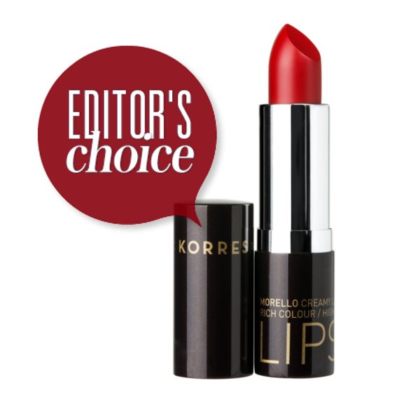 Editor's Choice: To κραγιόν Morello Lipstick που έγινε αυτόματα κλασικό
