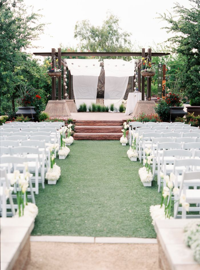 Check Out Our Gardens Arboretum All Set Up For A Beautiful Wedding Photo By