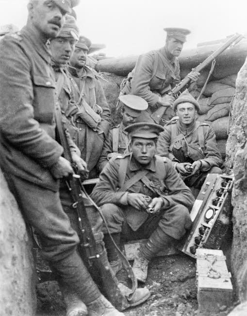 Image result for ww1 british soldiers with mills bomb