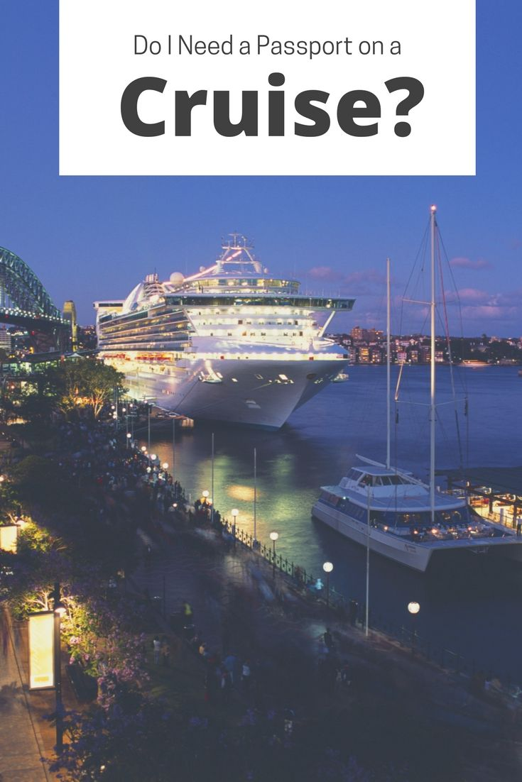Cruise passport requirements vary depending on the type of cruise you take as well as where the cruise will be sailing.