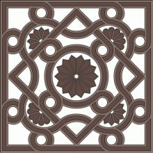 Download Byzantine ornament for free in vector art format.