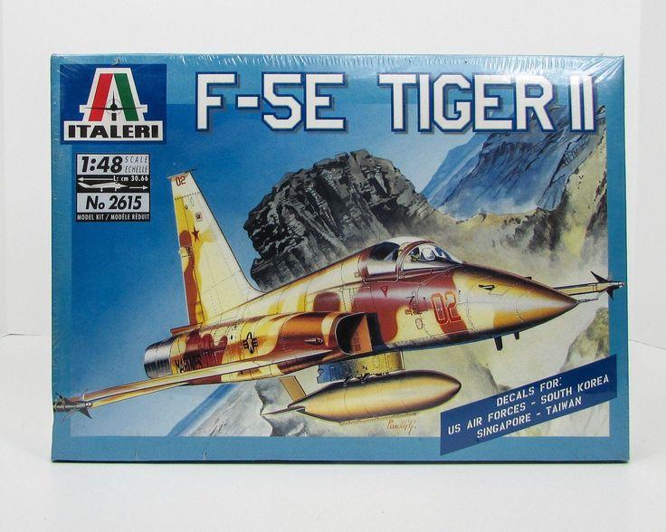 F-5E Tiger II 1/48 Italeri 2615 New Airplane Model Kit