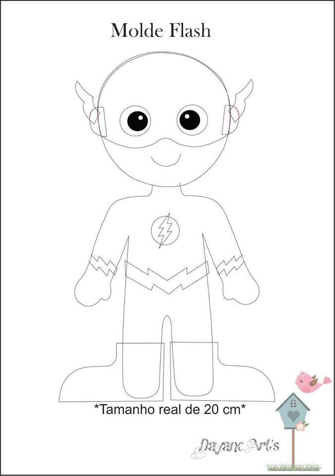 Eu Amo Artesanato: Super Heróis com moldes e passo a passo