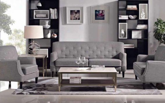 Update your home with this classic Hudson 2 + 3 seater sofa set. 100% polyester upholstery, premium foam, webbing support and timber legs complete this sofa set.  Available in three colours; dark grey, beige and grey  2+3 seater sofa at amazing value !! OUR PRICE $1080 * Elsewhere up to $3599