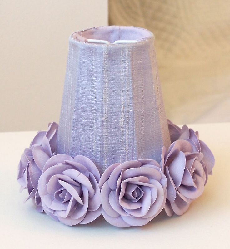 top notch girl bedroom decoration ideas using purple rose | 139 best Purple Lamps, Chandeliers & Candles images on ...
