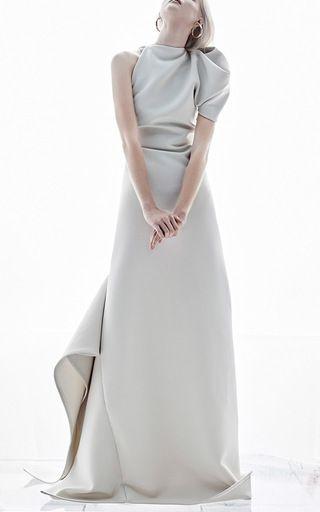 Maticevski One Shoulder Gown SS17