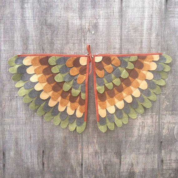 Magische schepsel vleugels vleugels kostuum uil / door TreeAndVine