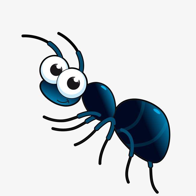 Vector Cute Cartoon Ant Cartoon Vector Ant Vector Cute Ants Png