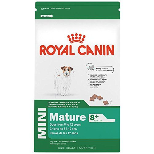 ROYAL CANIN SIZE HEALTH NUTRITION MINI Mature 8 dry dog food 25Pound >>> Read more  at the image link. Note: It's an affiliate link to Amazon.