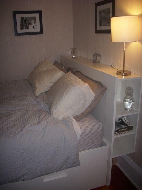 Attraktive Ikea Konig Kopfteil Kopfteil Bett Schlafzimmer Diy Ideen Fur Kleine Schlafzimmer