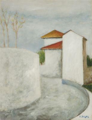Ottone Rosai  Case nel sole 1953