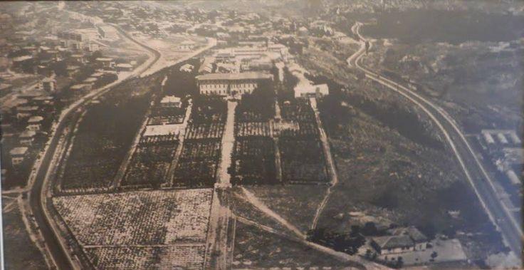 Ziraat mektebinin eski hali Siyah beyaz fotoğraflar Ziraat Mektebi içerisindeki Atatürk müzesinin duvarından alınmıştır.
