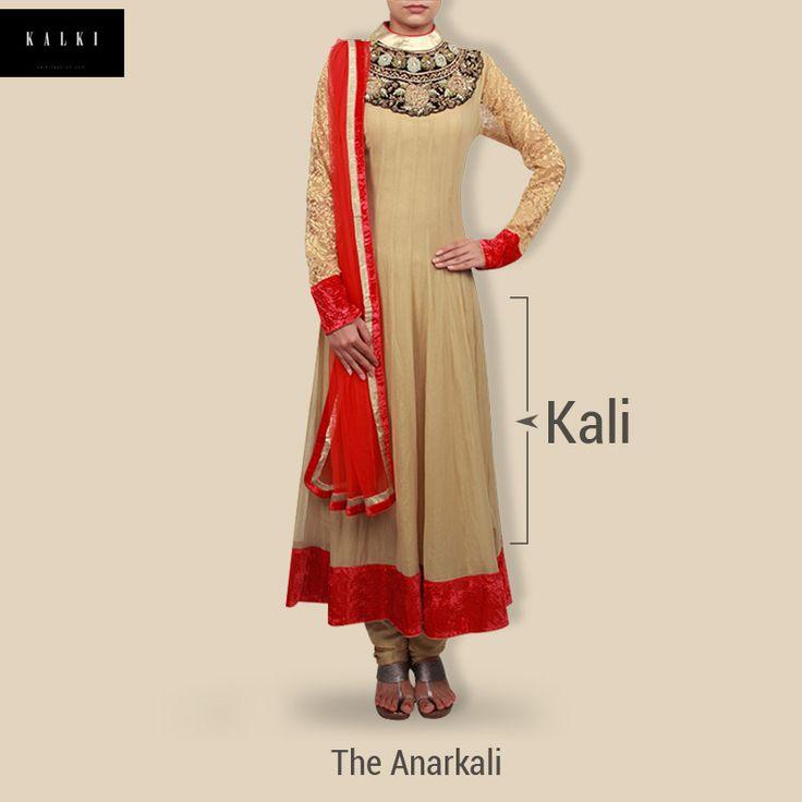 The #Anarkali, which originated in the Mughal era is still a classic favorite.