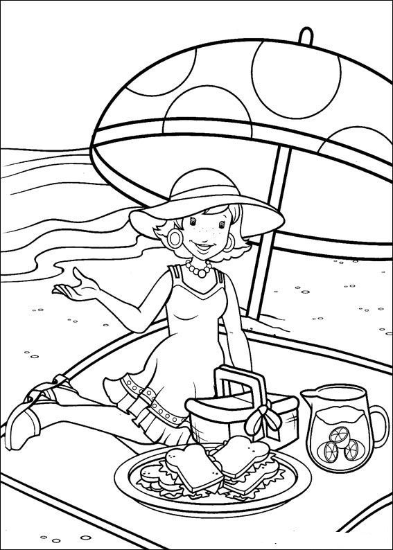 Holly Hobbie And Friends Coloring Page Source Kids N Fun