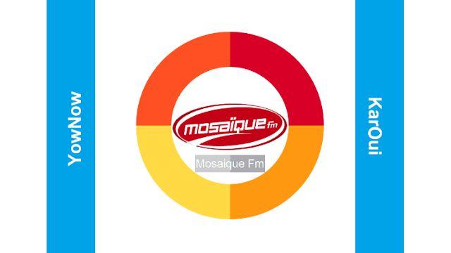 Mosaique FM live : Ecouter Tunisienne Radio sur internet gratuitement YowNow