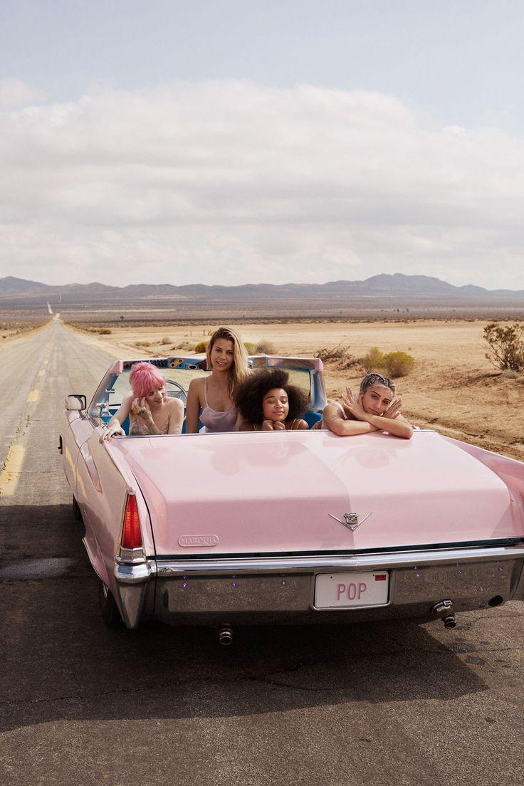 Grimes , Lourdes Leon, Amandla Stenberg, Kenya Kinski Jones for Stella McCartney