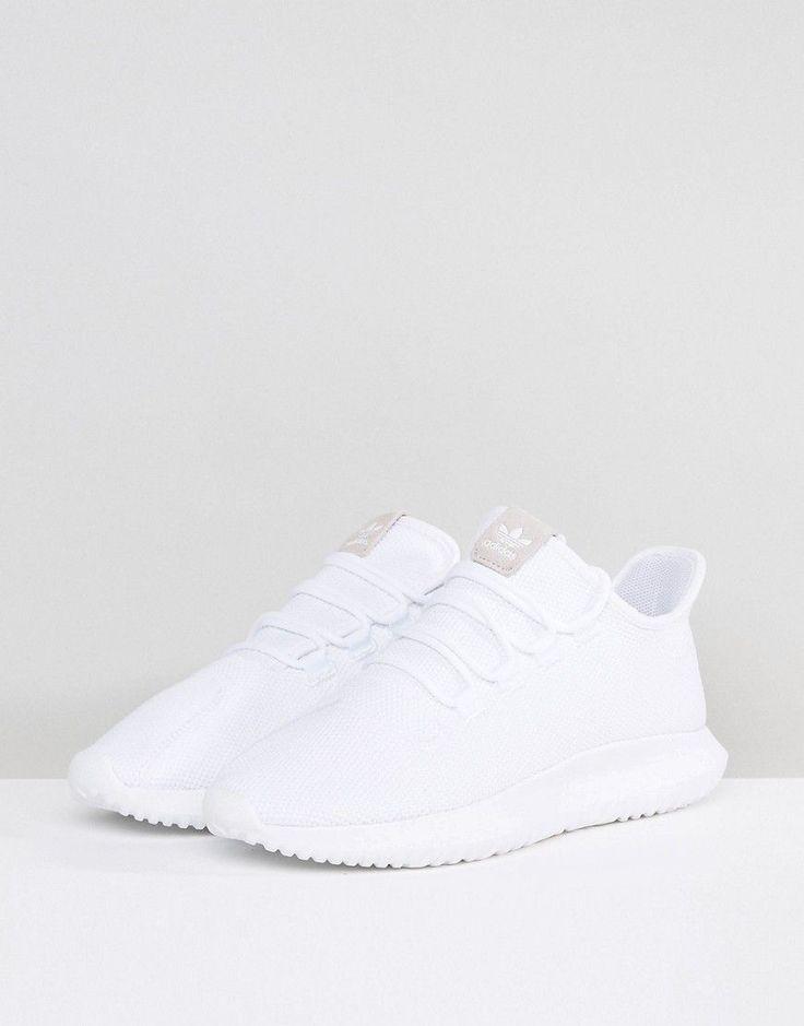 adidas Originals Tubular Shadow Sneakers In White CG4563